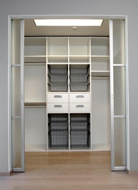 Garderoobisüsteem, valge